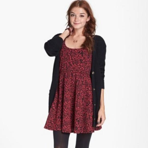 Nordstrom Dresses & Skirts - Nordstrom Dee Elle Floral Rose Skater Dress Small
